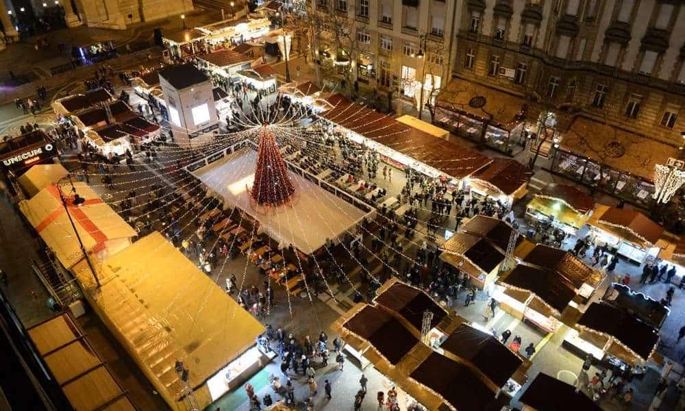 Európa legszebb karácsonyi vására lett a budapesti Advent Bazilika