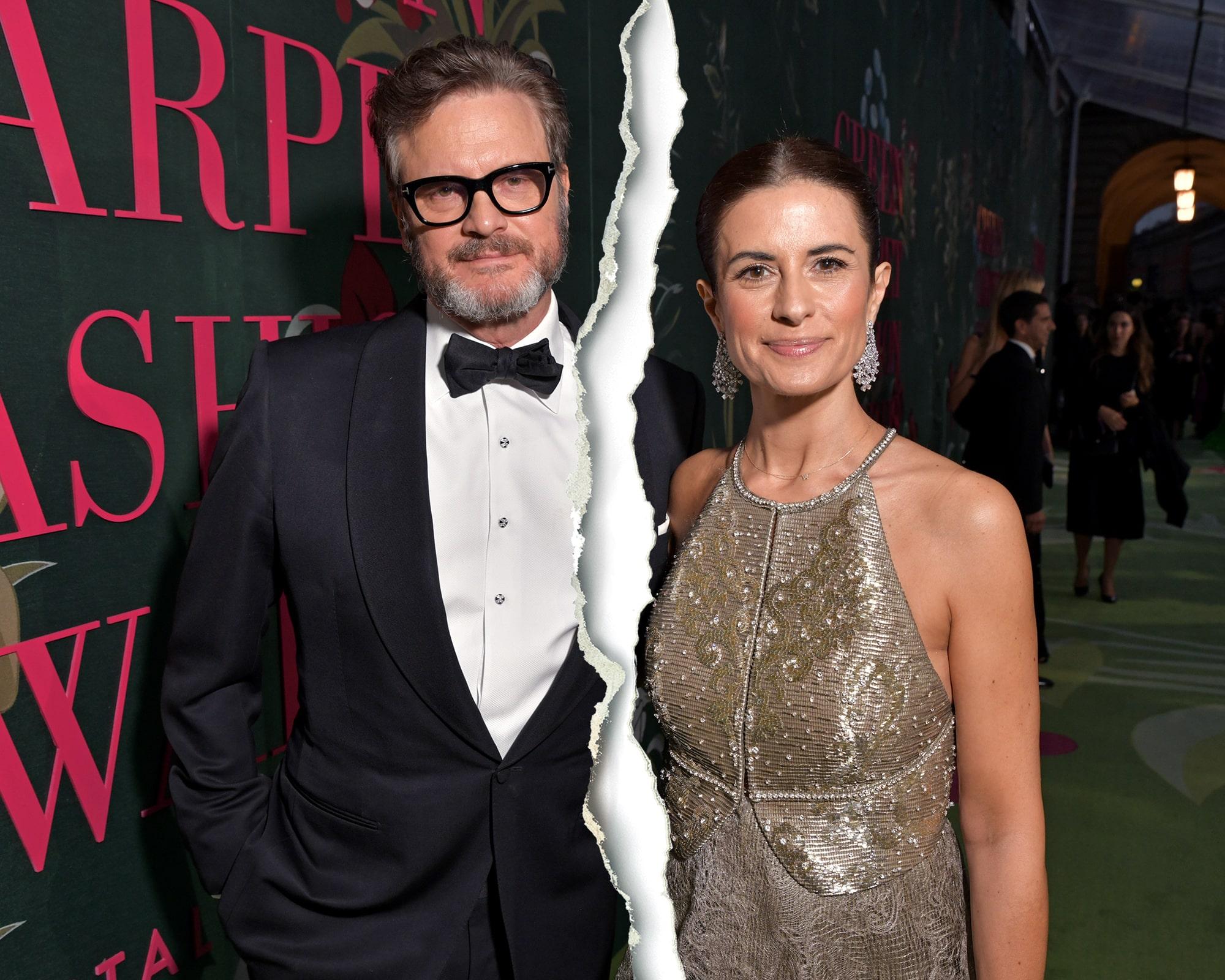 Kiderült, miért válik 22 év után Colin Firth és felesége