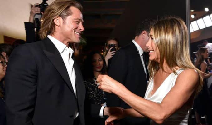 A fél világot lázba hozta Brad Pitt és Jennifer Aniston ölelkezése