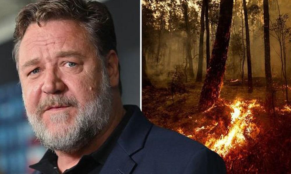 A pusztító tűz miatt nem tudta átvenni Russell Crowe a Golden Globe-díját